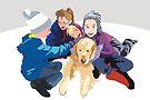 Snowball and friends by Matt Mawson