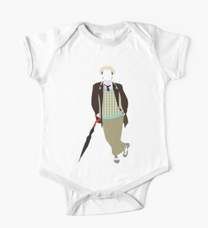 The Seventh Doctor - Doctor Who- Sylvester McCoy One Piece - Short Sleeve