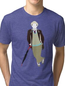 The Seventh Doctor - Doctor Who- Sylvester McCoy Tri-blend T-Shirt