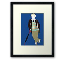 The Seventh Doctor - Doctor Who- Sylvester McCoy Framed Print