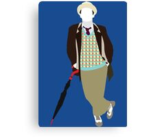 The Seventh Doctor - Doctor Who- Sylvester McCoy Canvas Print