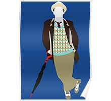 The Seventh Doctor - Doctor Who- Sylvester McCoy Poster