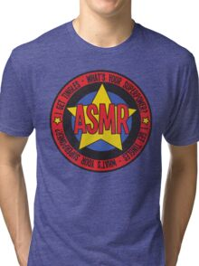 ASMR - What's Your Superpower? Tri-blend T-Shirt