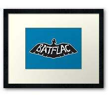 Batflac Framed Print