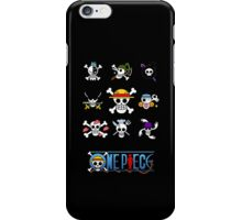 Straw Hat Jolly Rogers iPhone Case/Skin