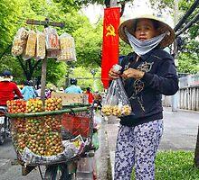 vendeuse de cacahuetes by magaflor