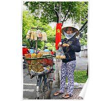 vendeuse de cacahuetes Poster