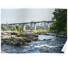 Yet Another View of the Robert E Lee Bridge Poster