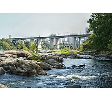 Yet Another View of the Robert E Lee Bridge Photographic Print