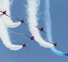 RAF Red Arrows - Formation Display by warbirds