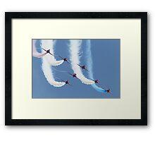 RAF Red Arrows - Formation Display Framed Print