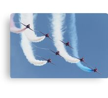 RAF Red Arrows - Formation Display Canvas Print