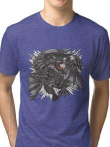 The Fierce Black Horn Tri-blend T-Shirt
