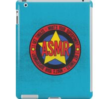 ASMR - What's Your Superpower? iPad Case/Skin