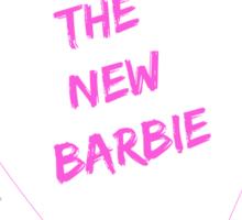 The New Barbie Sticker