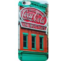 drink coca-cola in bottles iPhone Case/Skin