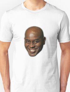 Large Ainsley Harriott Face Print Unisex T-Shirt