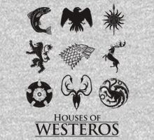 Houses of Westeros by innercoma