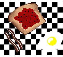 Breakfast by Kathleen   Sartoris