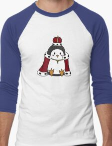 The Royal Penguin Men's Baseball ¾ T-Shirt