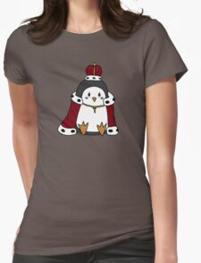 The Royal Penguin Womens Fitted T-Shirt