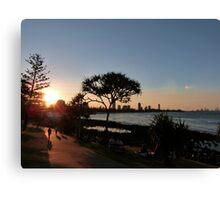 Burleigh Heads Sunset Canvas Print