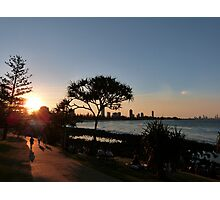 Burleigh Heads Sunset Photographic Print