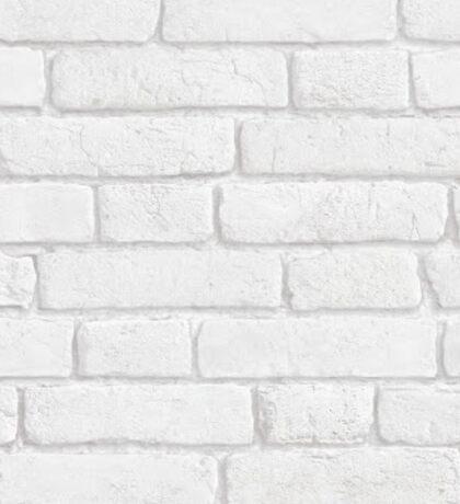 White Bricks Sticker
