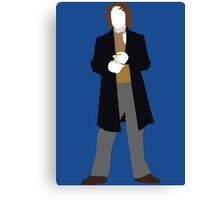 The Eighth Doctor - Doctor Who - Paul McGann Canvas Print