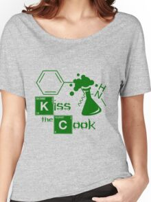 Kiss the Cook Women's Relaxed Fit T-Shirt