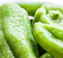 Green Peppers by Justin Spooner