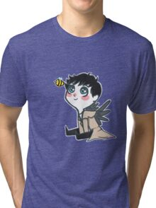 Cas and His Bee Tri-blend T-Shirt