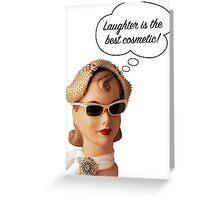 Makeup Feminist Greeting Card
