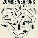 Zombie weapons by puppaluppa