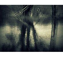 Winter Dam Photographic Print