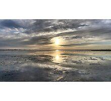 Sundown over North Sea Photographic Print