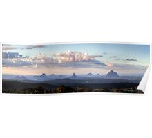 Glass House Mountains Poster