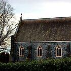 Blue church by terway