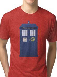 Sherlock's Tardis Tri-blend T-Shirt