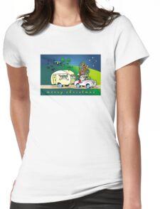 an aussie xmas Womens Fitted T-Shirt
