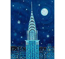 Winter in New York City Photographic Print