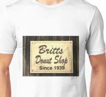 Britt's Donut Shop Sign 3 Unisex T-Shirt