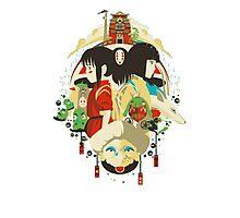 totoro studio ghibli anime Photographic Print