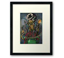 Tea Dragons- Grand Tea Master Framed Print
