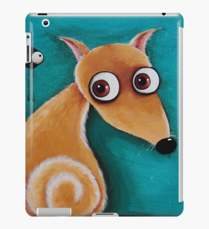 The dog and the spider iPad Case/Skin