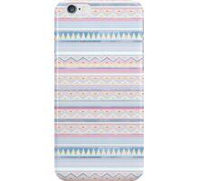 Blue Screen Print Aztec iPhone Case/Skin