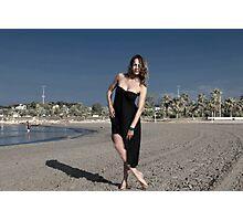 art de la plage Photographic Print