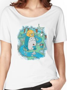 Totoro Time Women's Relaxed Fit T-Shirt