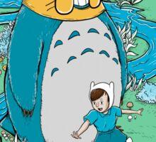Totoro Time Sticker