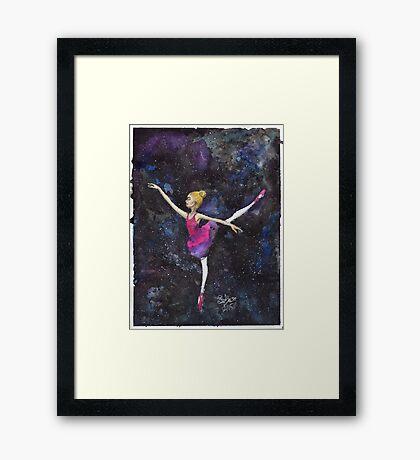 Dancing Among The Stars Framed Print